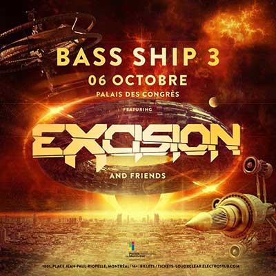 Bass Ship 3 @ Montreal, 6 octobre 2018
