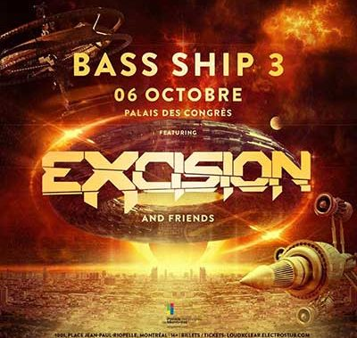 Bass Ship 3 @ Montreal, 6 octobre 2018